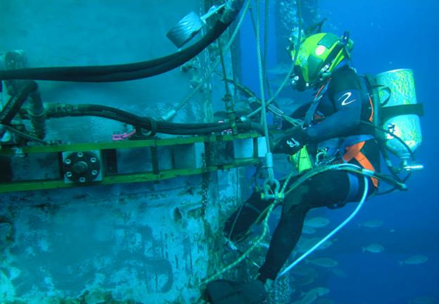 Offshore Commercial Diver : Weirdest jobs you ve never heard of a with bite
