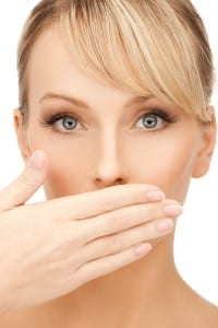 Embarrassed by your smile? Make sure you're getting regular teeth cleanings from your dentist! Source: Big Stock Photo