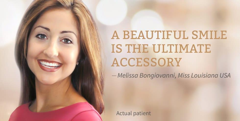 Melissa Bongiovanni smiling