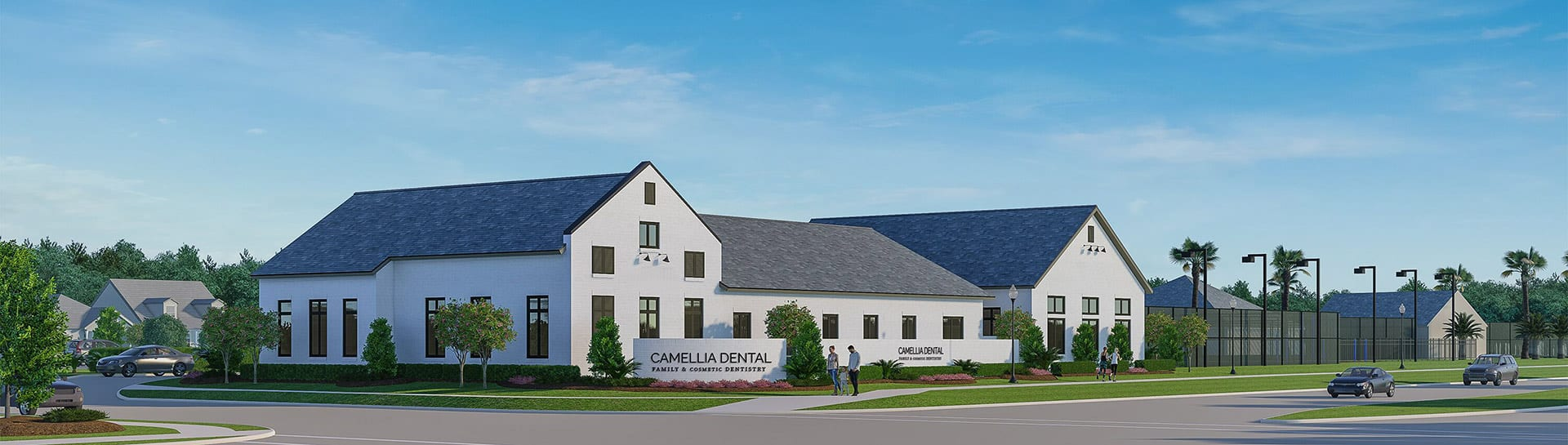 Camellia Dental Building Rendering