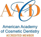 Accredited Member of the American Academy of Cosmetic Dentistry